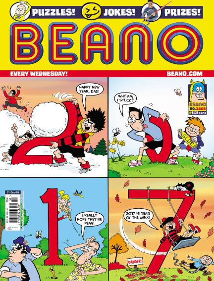 Beano December 28, 2016 00:00