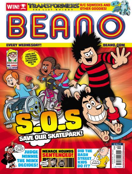 Beano November 01, 2017 00:00