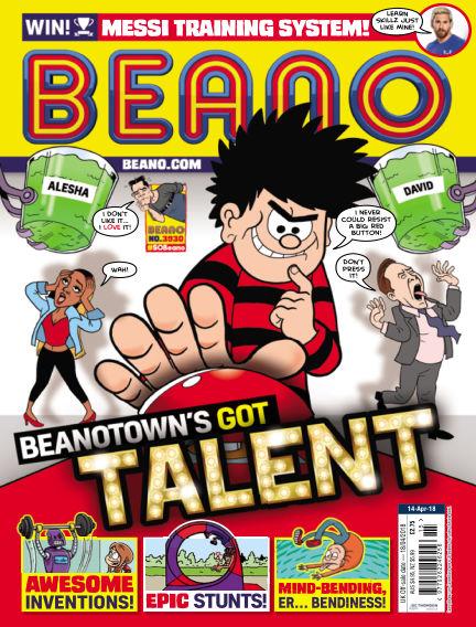 Beano April 11, 2018 00:00