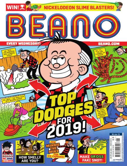 Beano January 02, 2019 00:00