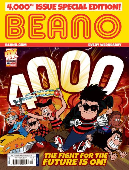Beano August 28, 2019 00:00