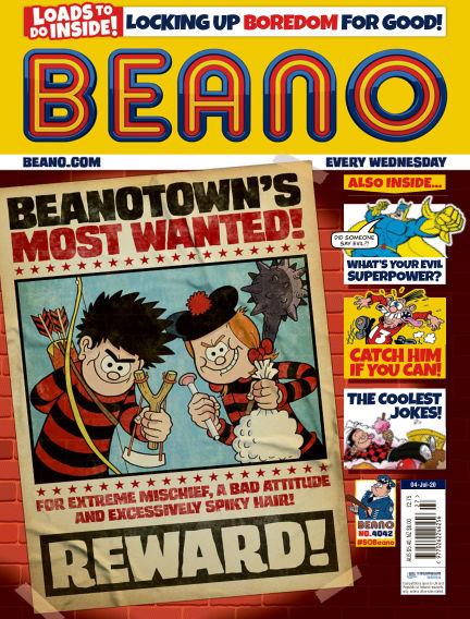 Beano July 01, 2020 00:00