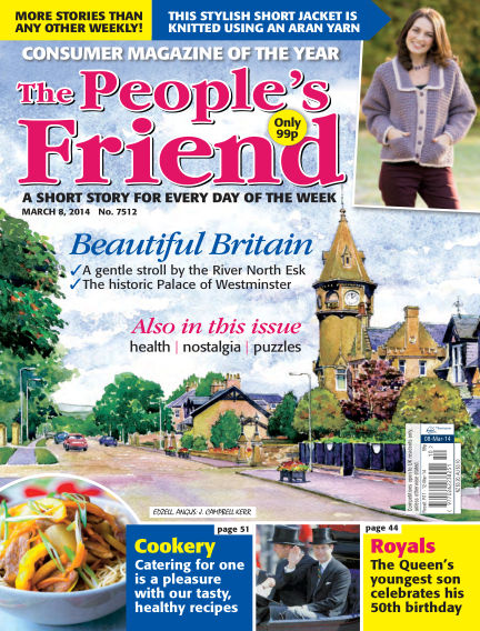The People's Friend March 08, 2014 00:00