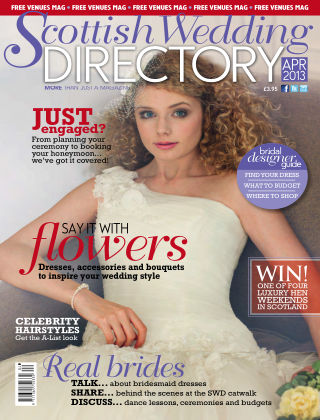 Scottish Wedding Directory April 2013