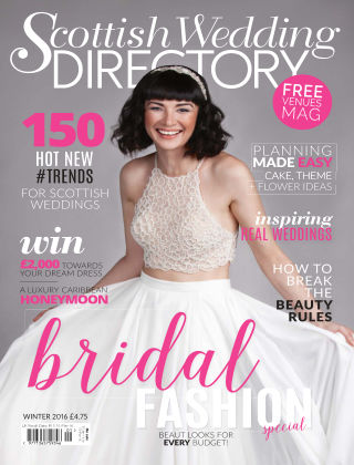 Scottish Wedding Directory Winter 2016