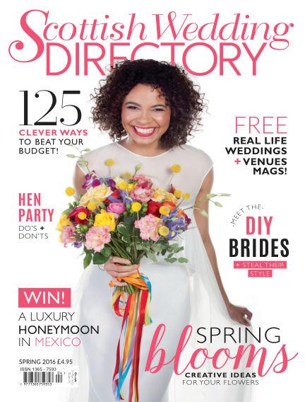Scottish Wedding Directory March 31, 2016 00:00