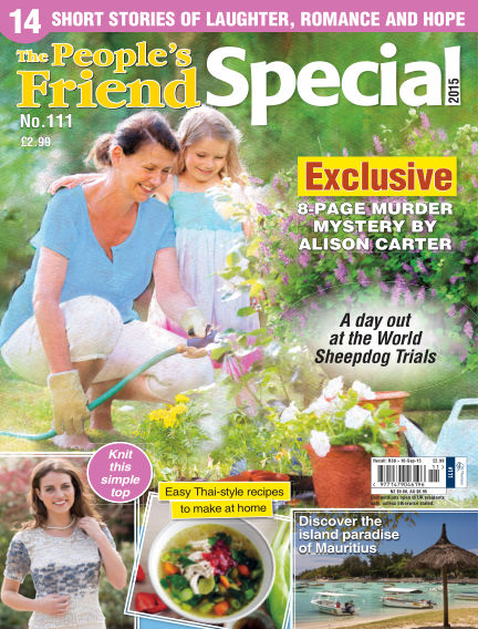 The People's Friend Special August 26, 2015 00:00