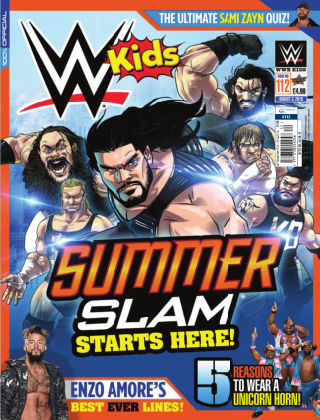 WWE Kids Issue 112