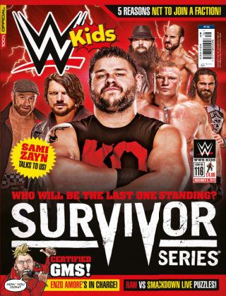 WWE Kids Issue 116