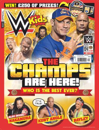 WWE Kids Issue 124