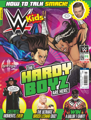 WWE Kids Issue 128