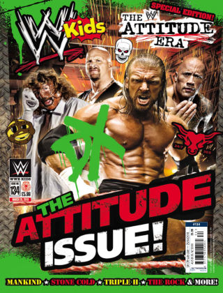 WWE Kids Issue 134