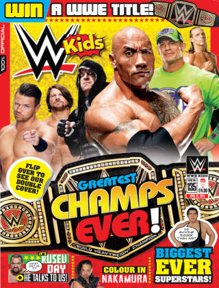 WWE Kids Issue 135