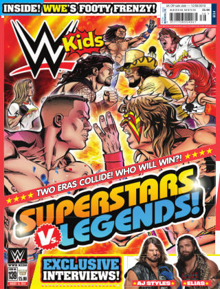 WWE Kids Issue 139