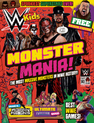 WWE Kids Issue 141