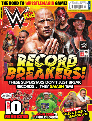 WWE Kids Issue 143