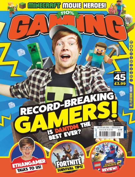 110% Gaming February 28, 2018 00:00