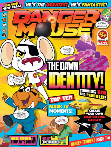 Danger Mouse August 17, 2016 00:00
