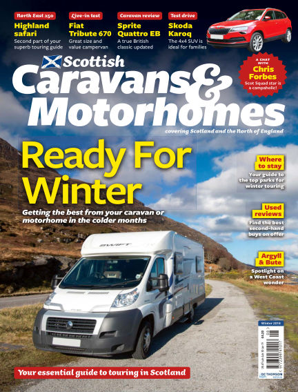 Scottish Caravans & Motorhomes October 31, 2018 00:00