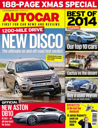 Autocar 10th December 2014
