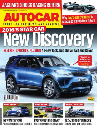 Autocar 23rd December 2015