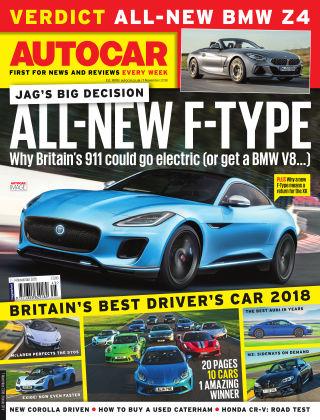 Autocar 7th November 2018