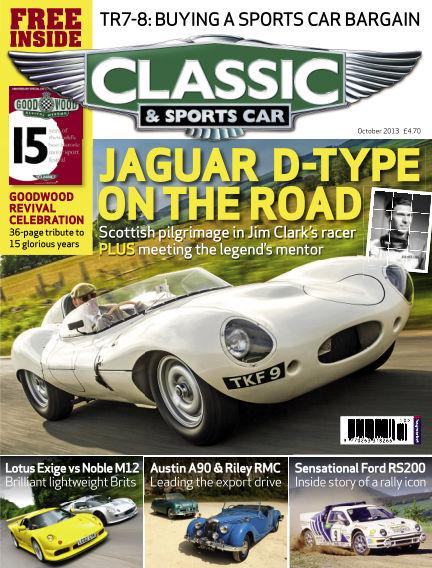 Classic & Sports Car October 01, 2013 00:00