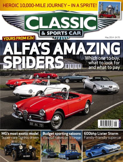 Classic & Sports Car April 03, 2014 00:00