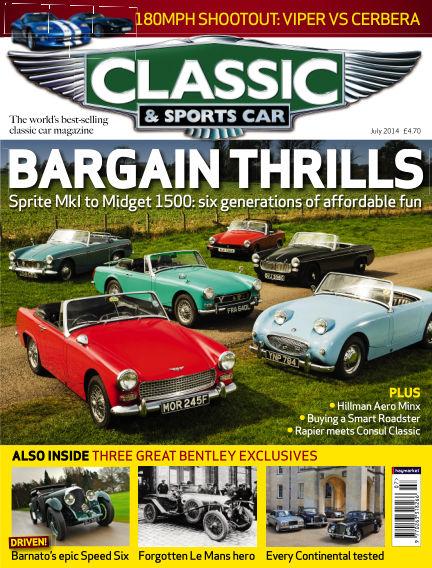 Classic & Sports Car June 05, 2014 00:00