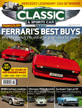 Classic & Sports Car August 2014