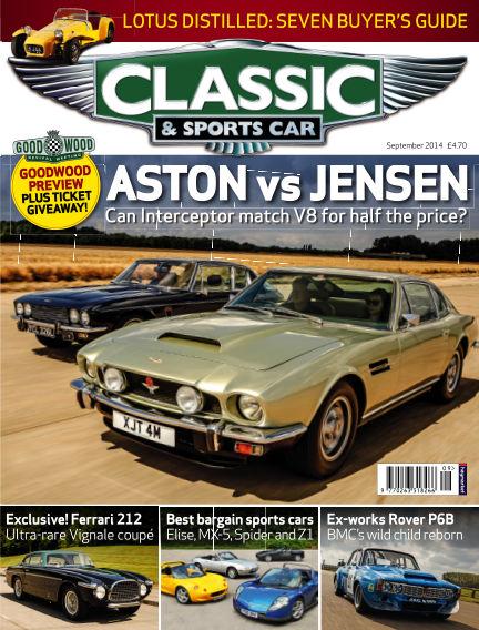 Classic & Sports Car August 07, 2014 00:00