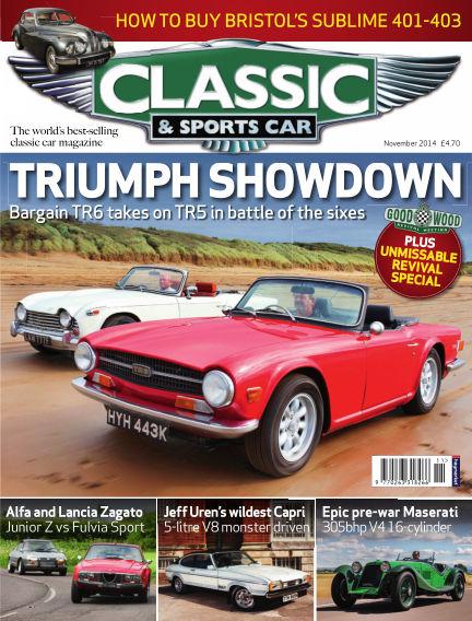Classic & Sports Car October 02, 2014 00:00