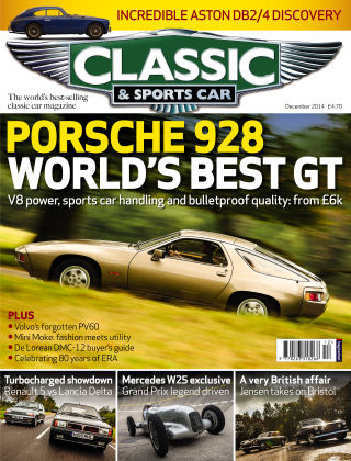 Classic & Sports Car December 2014
