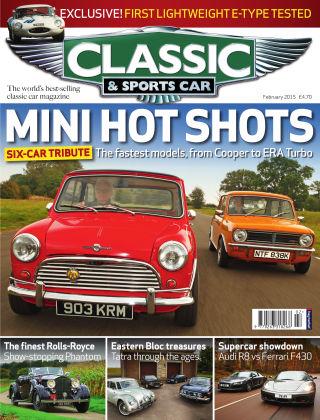 Classic & Sports Car February 2015