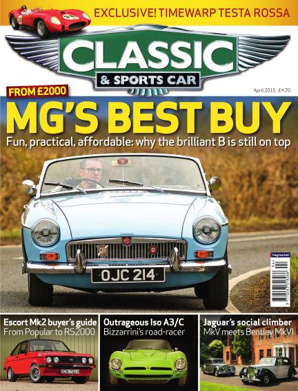 Classic & Sports Car March 05, 2015 00:00