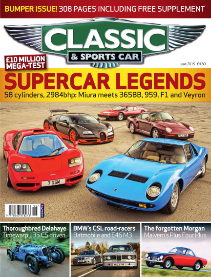 Classic & Sports Car May 07, 2015 00:00