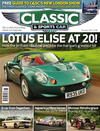 Classic & Sports Car November 2015