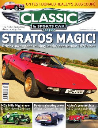 Classic & Sports Car December 2015