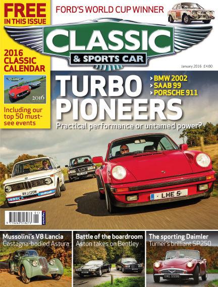 Classic & Sports Car December 02, 2015 00:00