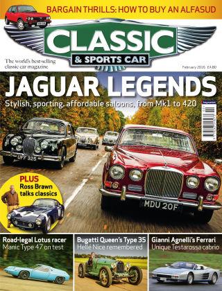 Classic & Sports Car February 2016