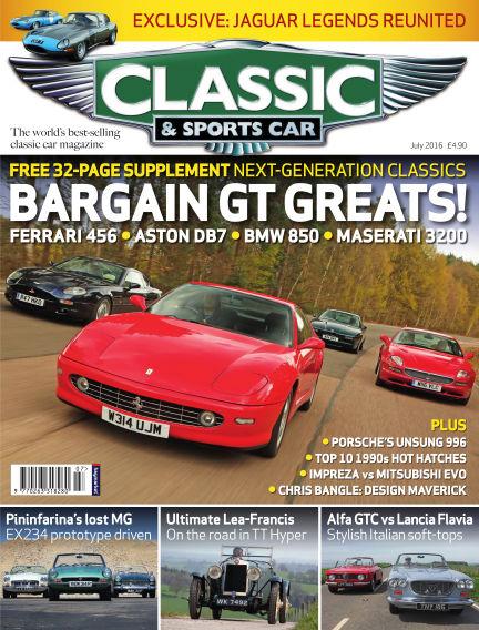 Classic & Sports Car June 02, 2016 00:00