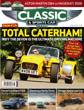 Classic & Sports Car August 2016