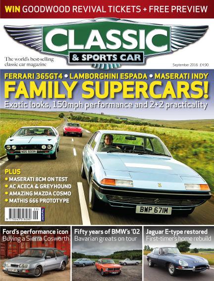Classic & Sports Car August 04, 2016 00:00