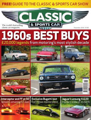 Classic & Sports Car November 2016