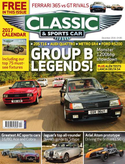 Classic & Sports Car November 03, 2016 00:00
