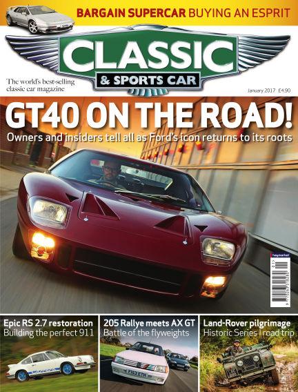 Classic & Sports Car December 01, 2016 00:00