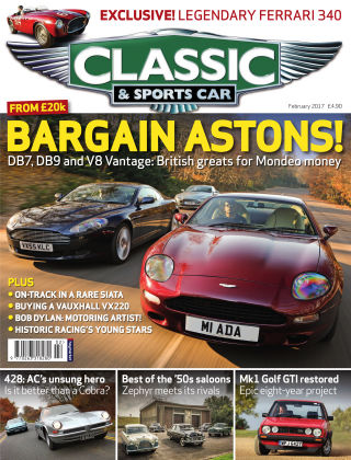 Classic & Sports Car February 2017