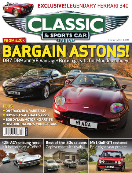 Classic & Sports Car January 05, 2017 00:00