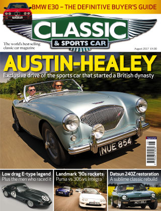 Classic & Sports Car August 2017