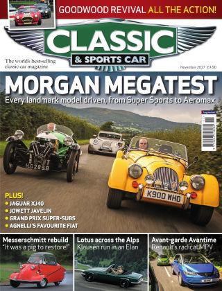 Classic & Sports Car November 2017